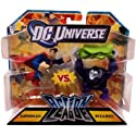 DC Universe Action League Mini Figure 2Pack Superman vs. Bizarro