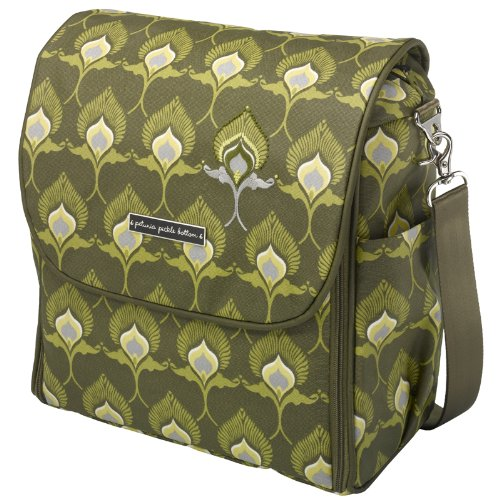 Petunia Pickle Bottom Sleepy in Segovia Boxy Backpack