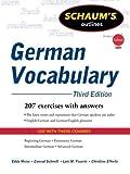 Schaum's Outline of German Vocabulary, 3ed (Schaum's Outlines)