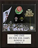 NCAA Football Ohio State 2010 Rose Bowl Champions Plaque Amazon.com