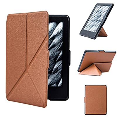 Mokao Smart Ultra Slim Magnetic Case For Model Amazon Kindle 6 inch by Mokao