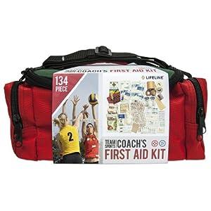 Lifeline 134-Piece Team Sports Coach First Aid Kit by Lifeline
