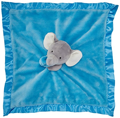 Carter's Cuddle Plush Blanket Elephant, Grey/Blue (Baby Starter Snuggle Buddy compare prices)