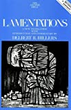 Lamentations: Second Revised Edition (The Anchor Yale Bible Commentaries)