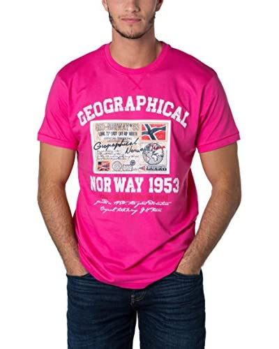 Geographical Norway T-Shirt Snht rosa