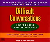 img - for Difficult Conversations book / textbook / text book