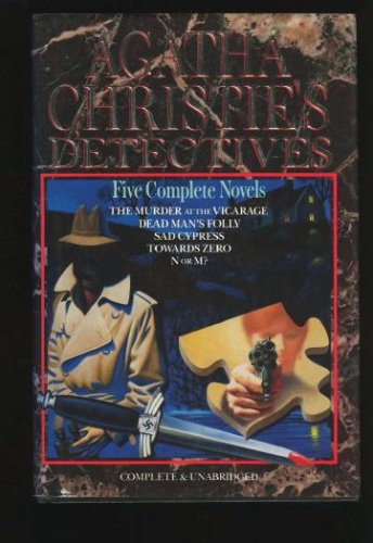 Wings Bestsellers--Mystery/Suspense: Agatha Christie's Detectives: Five Complete Novels (Avenel Suspense Classics), Agatha Christie