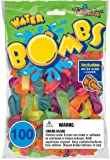 Pioneer National Latex 100 Count Water Bombs, Neon
