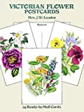 img - for Victorian Flower Postcards: 24 Ready-to-Mail Cards (Card Books) book / textbook / text book