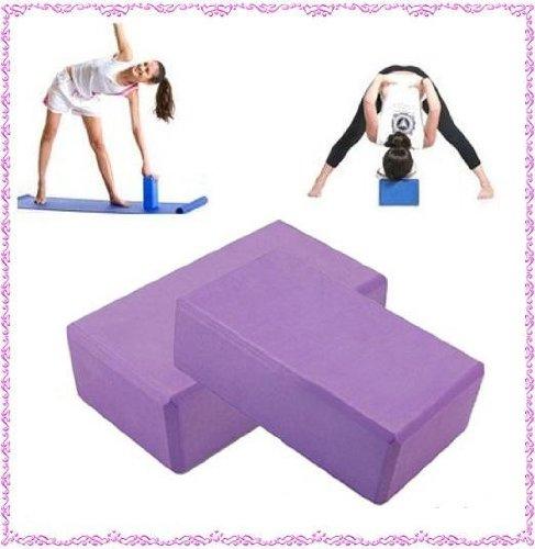 2-x-brique-bloc-de-yoga-gymnastique-mousse-legere-exercices-relaxation-neuf-uk