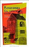 echange, troc Jean-Jacques Rousseau, Pierre Burgelin - Du contrat social