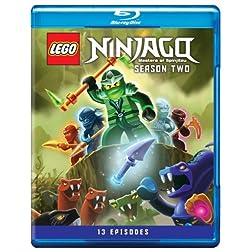 Lego Ninjago: Masters of Spinjitzu Season Two [Blu-ray]