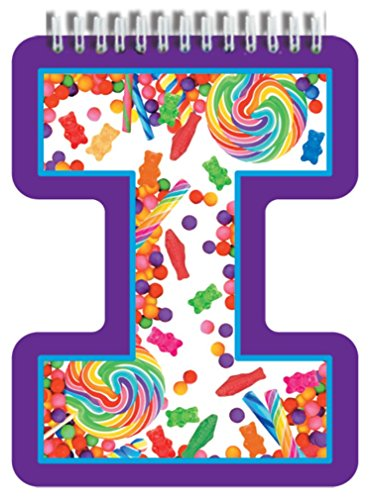 iscream Letter I Shaped Initial Notebook