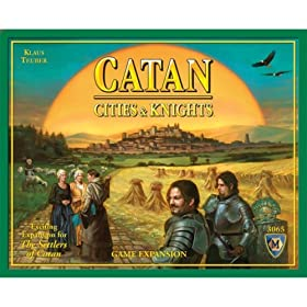 Settlers of Catan Cities and Knights expansion!