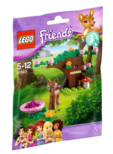 LEGO Friends Series 3 Animals - Fawns Forest (41023) - 1
