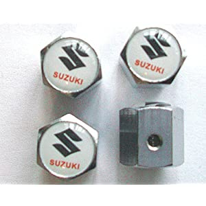 Suzuki Anti-theft Car Wheel Tire Valve Stem Caps