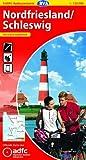 ADFC-Radtourenkarte 1 Nordfriesland /Schleswig 1:150.000, reiß- und wetterfest, GPS-Tracks Download und Online-Begleitheft