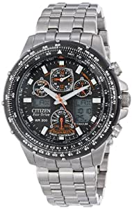 "腕時計 シチズン Citizen Men's JY0010-50E Eco-Drive ""Skyhawk A-T"" Titanium Watch【並行輸入品】"