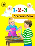 123 Coloring Book (St. Joseph Coloring Books)