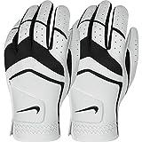 Nike Golf 2015 Dura Feel VIII Reg Golf Glove - MRH - White/Black - ML