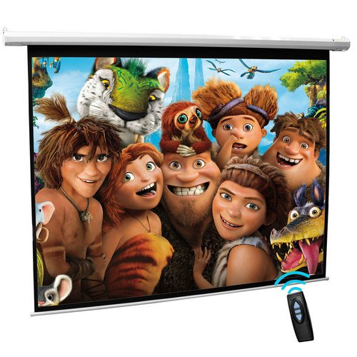 Generic Matt White Electric Projector Screen 72 Inch 4:3 16:9 Color White Black Friday & Cyber Monday 2014