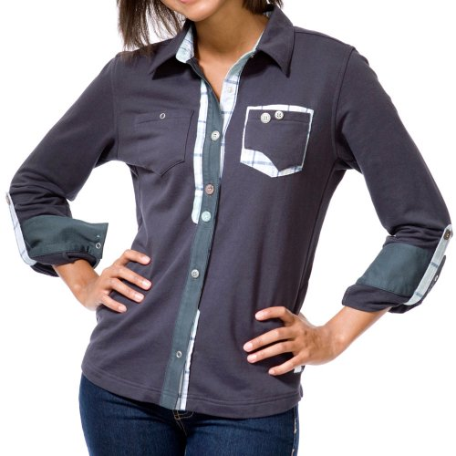 LOOPTWORKS Women's Jalan Long Sleeve Over Shirt