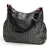 Babymel Big Slouchy Black Dot Changing Bag