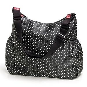 Babymel Big Slouchy Black Dot Changing Bag