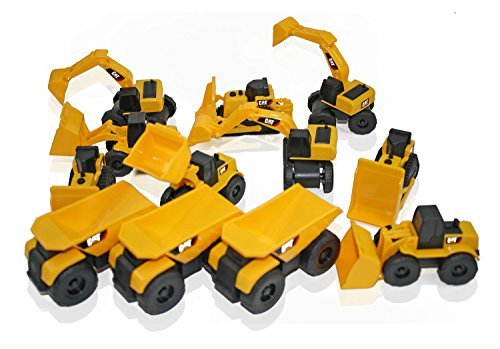 Cat Construction Toys : Toy state cat caterpillar construction toys mini machine