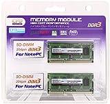 CFD販売  ノートPC用メモリ PC-10600(DDR3-1333) 2GB×2枚 204pin SO-DIMM (無期限保証)(Panramシリーズ) W3N1333PS-2G ランキングお取り寄せ