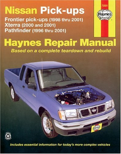 Nissan Pickups, Xterra 2000-20001, Pathfinder1996-2001, and Frontier 1998-2001,  (Haynes Manuals) (Nissan Frontier Vault compare prices)