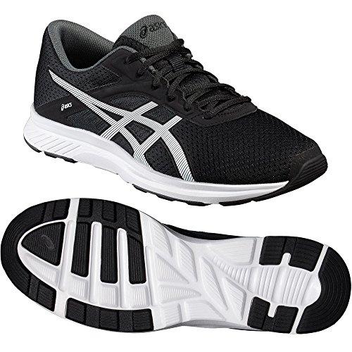 asics-fuzor-mens-running-shoes-color-black-white-shoe-size-75-uk