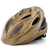 (ジーハウス)G−HOUSE 【SAHOO】 ロードバイク ヘルメット 360度 LED点灯 正規並行輸入品 RBH-001 (金, M)