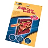 Fellowes Jewel Case Matte Inserts - 20 Packby Fellowes