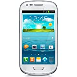 Samsung Galaxy S III 3 mini 8GB i8190 HSPDA 900/1900/2100 FACTORY UNLOCKED Marble White INTERNATIONAL VERSION by Samsung