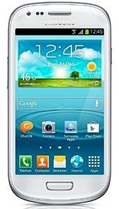 Samsung Galaxy S III 3 mini 8GB i8190 HSUPA/HSPDA 900/1900/2100 mps 5MP CAMERA FACTORY UNLOCKED Marble White INTERNATIONAL VERSION
