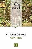 echange, troc Combeau Yvan - Histoire de Paris