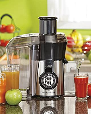 Hamilton Beach 67608A Big Mouth Juice Extractor (Certified Refurbished) from Hamilton Beach
