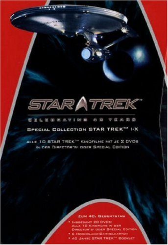 Star Trek - Celebrating 40 Years (40th Anniversary SE Movie Collection) [Special Edition] [20 DVDs]