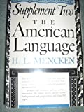 Image of The American Language, Supplement 2