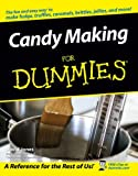 Candy Making For Dummies (0764597345) by Jones, David