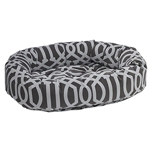 Diamond Series Microvelvet Donut Dog Bed