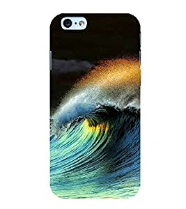 printtech Nature Sea Waves Back Case Cover for Apple iPhone 6