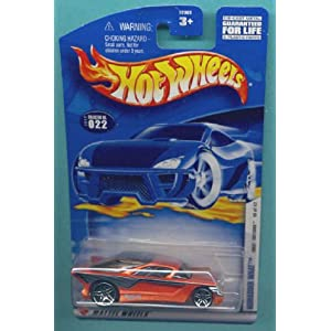 Mattel Hot Wheels 2002-022 First Editions ORANGE Nomadder What 1:64 Scale