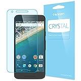 【Spigen】Nexus 5X フィルム 液晶保護フィルム クリスタル 【高い 透明度】クリスタル クリア Google LG Nexus 5X 用 (Nexus 5X, クリスタル クリア【SGP11755】)