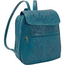 Ropin West Backpack Handbag (Turquoise)