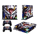 EBTY-Dreams Inc. - Sony Playstation 4 Original (PS4 Original) - Gundam Mobile Suits Anime Mecha Vinyl Skin Sticker Decal Protector