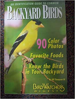 An Identification Guide to Common Backyard Birds: Amazon ...