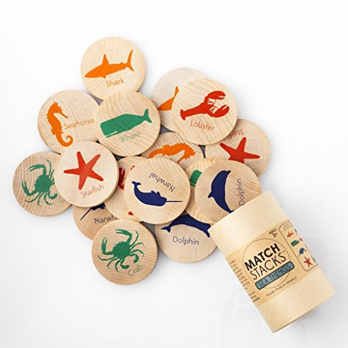 Tree Hopper Toys - Sea Things Match Stacks