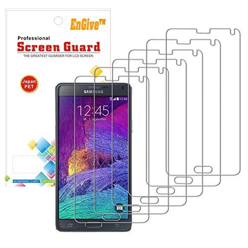 3-x-EnGive-Displayschutzfolie-Samsung-Galaxy-Note-4-Schutzfolie-Folie-Displayschutz